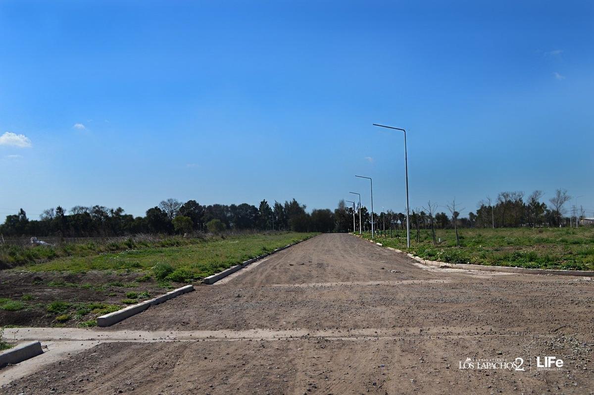 venta de terrenos en perez los lapachos 2 a metros de av belgrano - oportunidad
