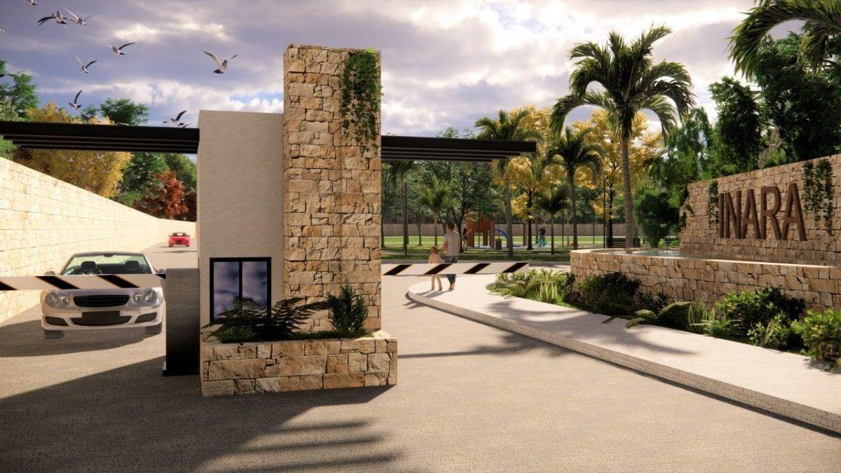 venta de terrenos residenciales en mérida, privada inara, cholul lote 46