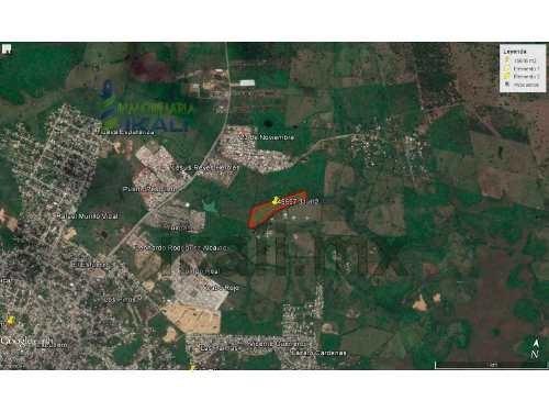 venta de terrenos tuxpan ver, 45597 m² en av. américas. gran terreno de 45,597 m², en av. las américas, entrando por camino vecinal que entronca en carretera tuxpan- tamiahua en frente del infonavit