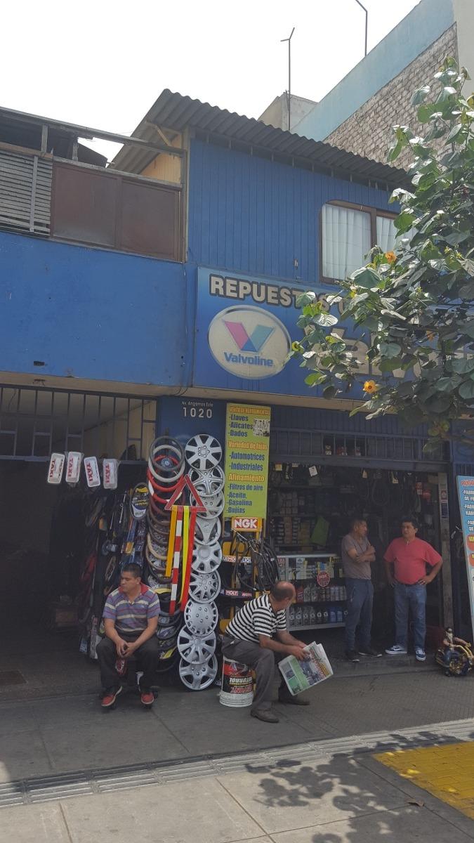 venta de tienda comercial cuadra 10 de av angamos surquillo