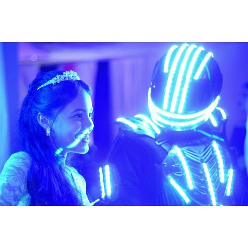 venta de trajes led robot led alquiler y elaboración co2