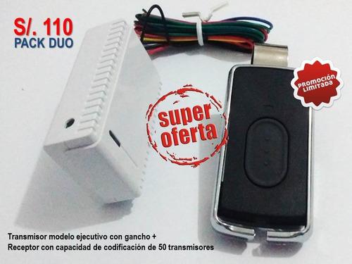 venta de transmisores y receptor de puertas automáticas