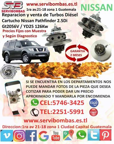 venta de turbo nissan frontier 3.0 d22 zd30 guatemala