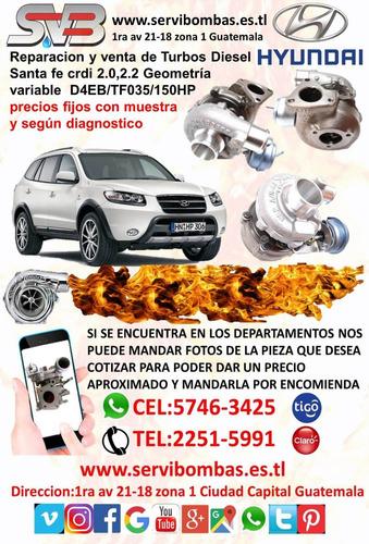 venta de turbos diesel hyundai galloper 2.5 d4bh guatema