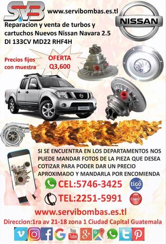 venta de  turbos diesel nissan frontier 3.0 d22 zd30 guatema