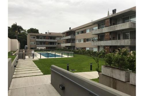 venta departamento 1 amb c/ cochera y jardín !!!!!