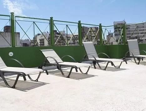 venta departamento 1 ambiente amoblado con balcón  y cochera fija recoleta