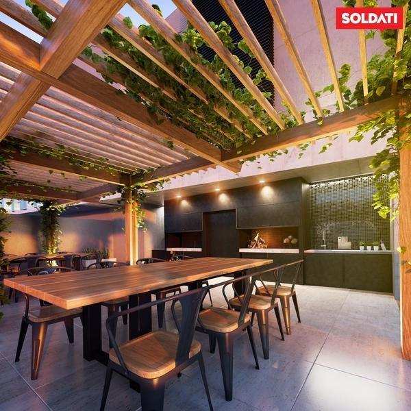 venta departamento 1 ambiente con patio - belgrano