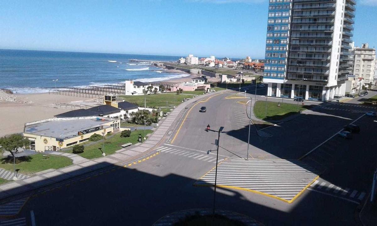 venta departamento 1 ambiente miramar vista frente al mar