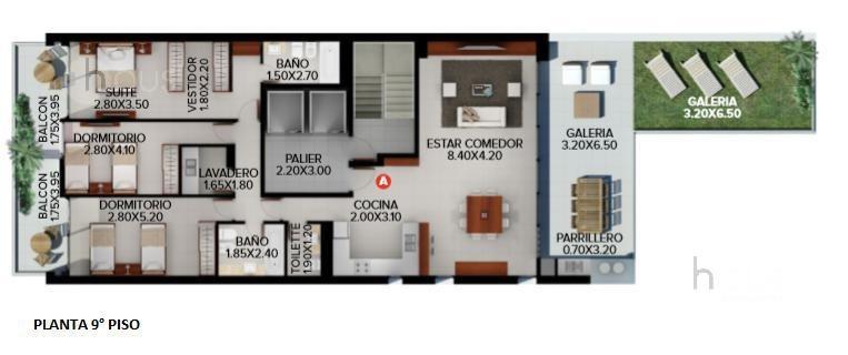 venta departamento 1 dormitorio