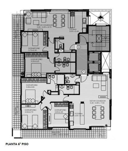venta departamento 1 dormitorio con amenitis