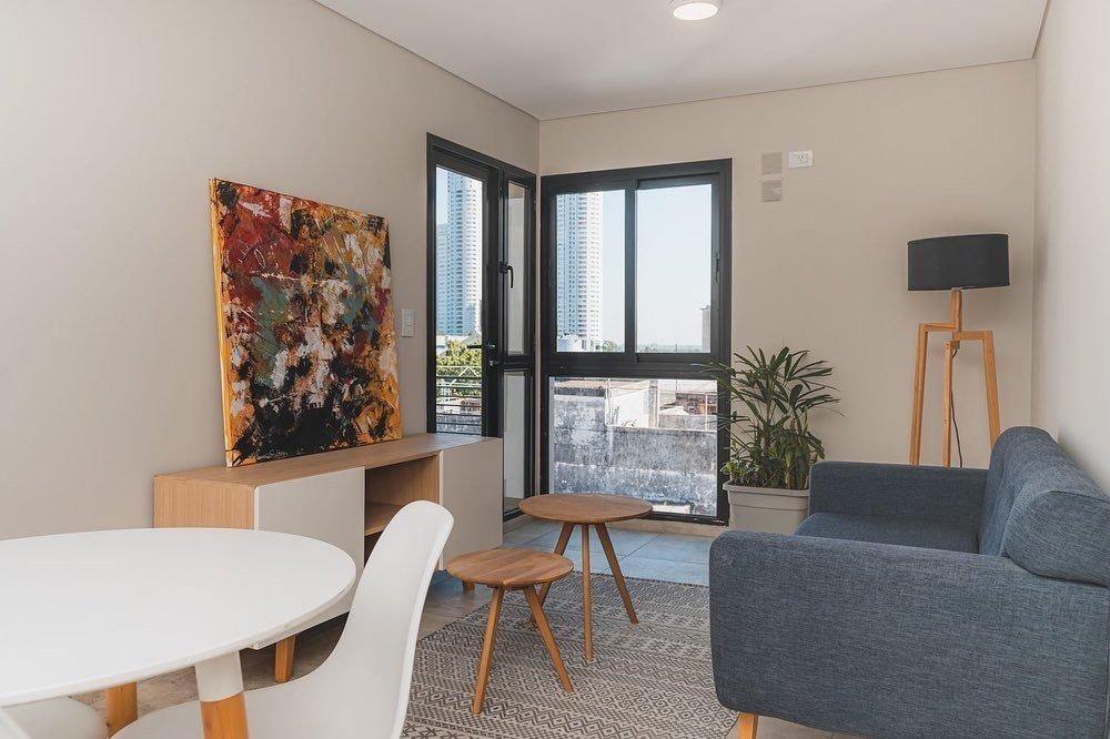 venta - departamento 1 dormitorio con patio - zona pichincha