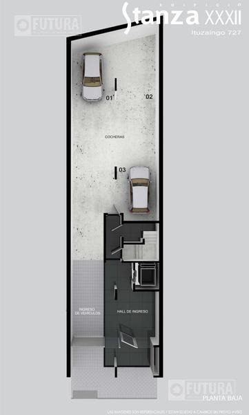 venta departamento 1 dormitorio -  ituzaingo 727 - abasto