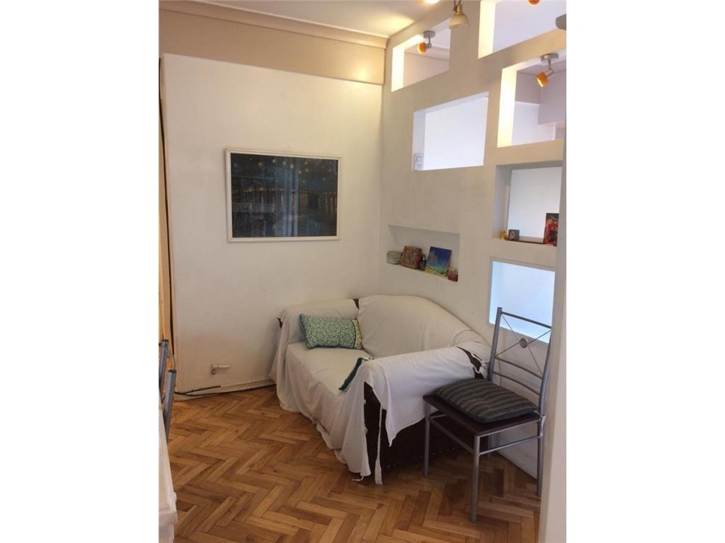 venta  departamento 2 amb, -funciona como 3 amb - 45m2 cub