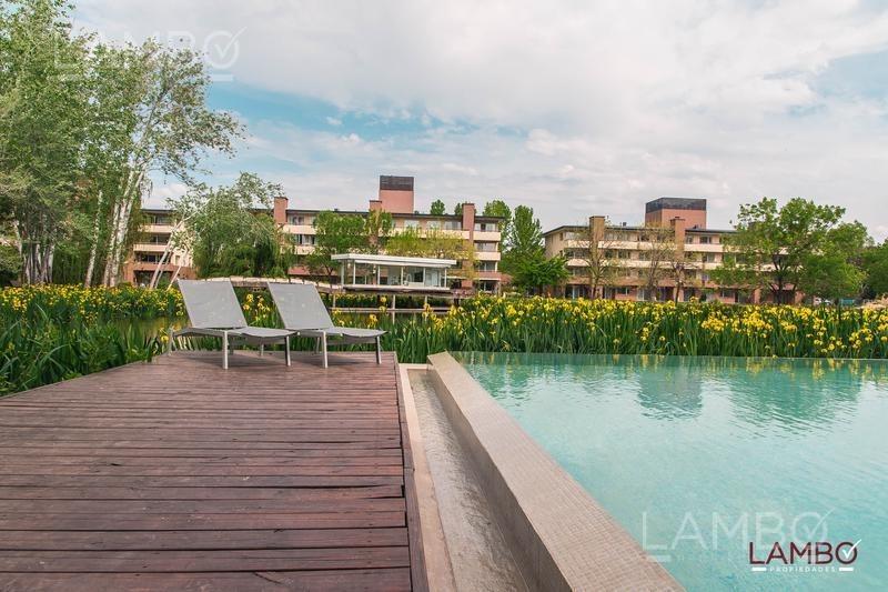 venta departamento 2 amb- villa del lago, pilar