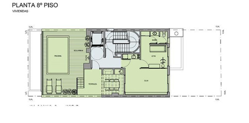 venta departamento 2 ambientes