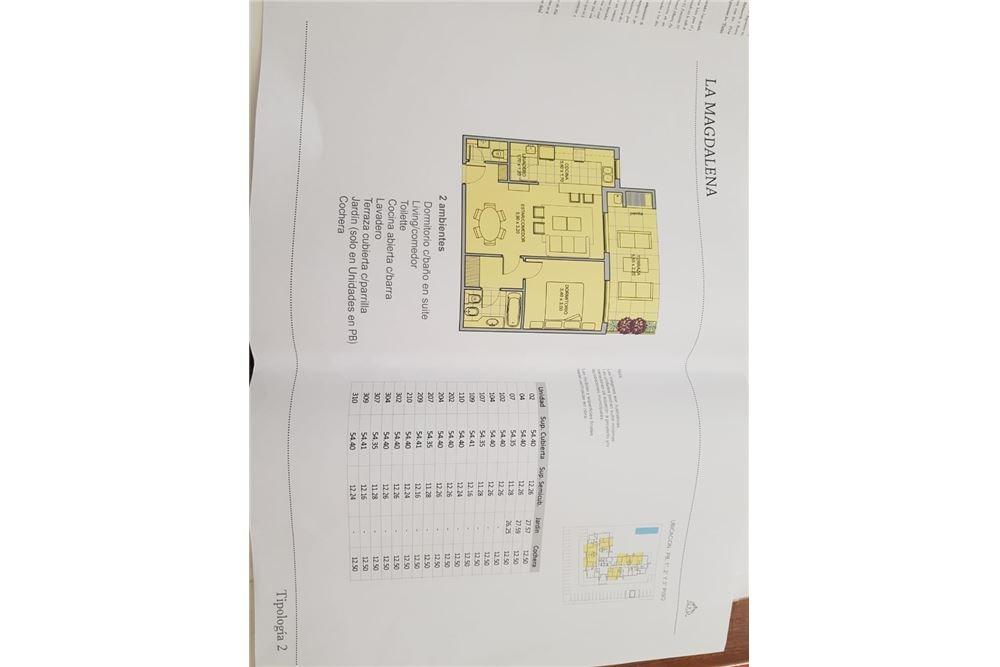 venta departamento 2 ambientes a estrenar - pilar