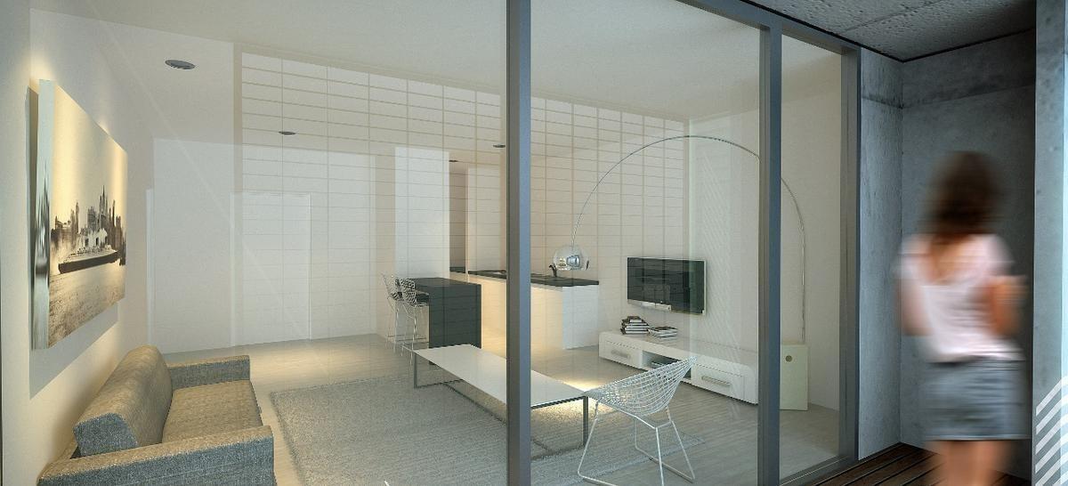 venta departamento · 2 ambientes con cochera - nuñez