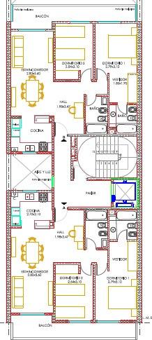 venta departamento 2 dormitorios - balcon corrido al frente / entrega 2020