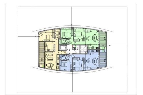 venta - departamento 3 amb. (5° c) - entrega nov. 2019 - pinamar