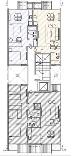 venta departamento 3 ambientes 83m2 al frente la perla