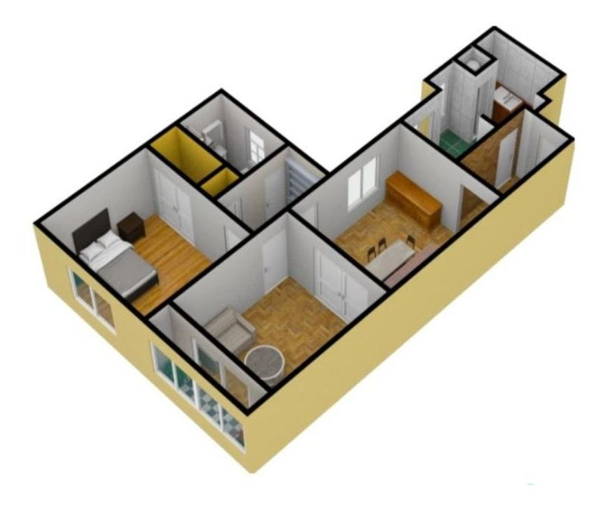 venta departamento 3 ambientes - balcón -monserrat