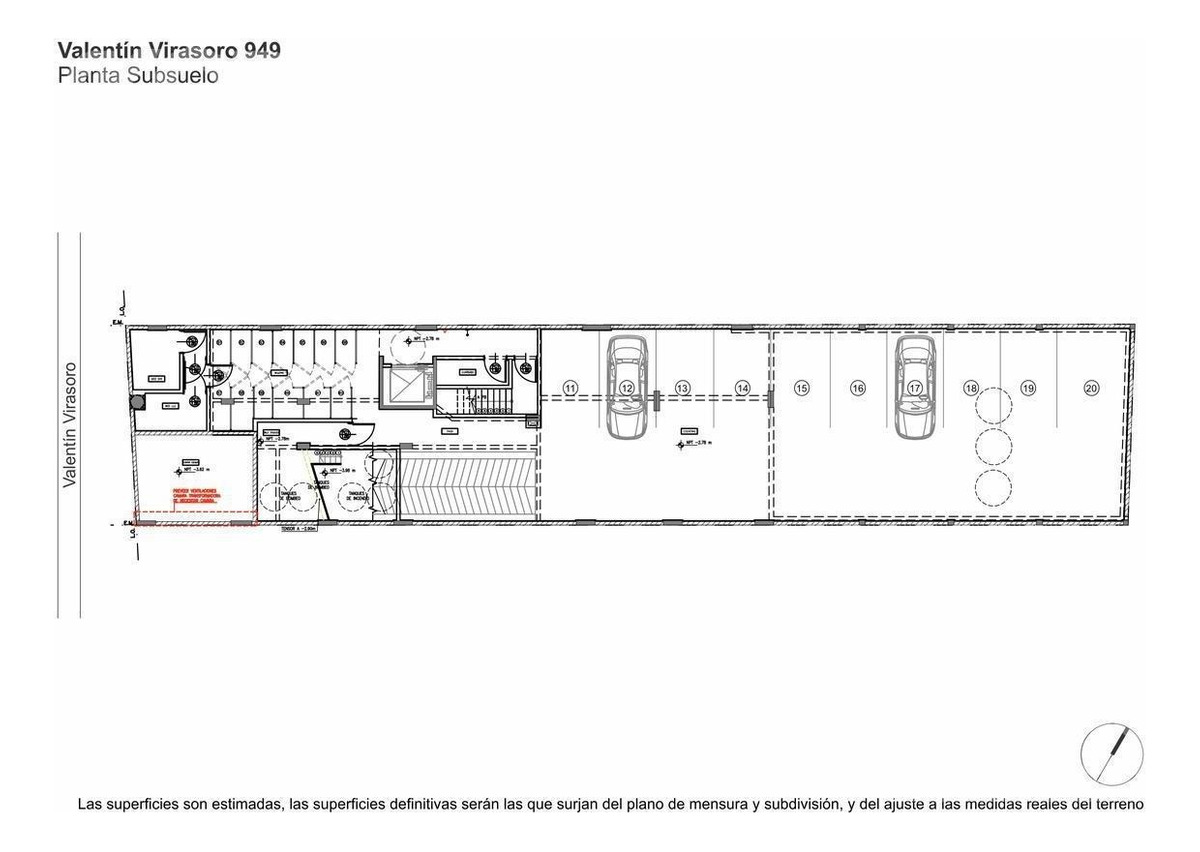 venta departamento 3 ambientes con balcon aterrazado en caballito - en construccion