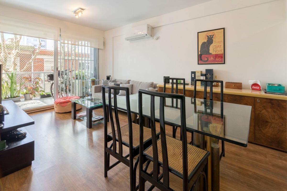 venta departamento 3 ambientes con balcón - villa urquiza