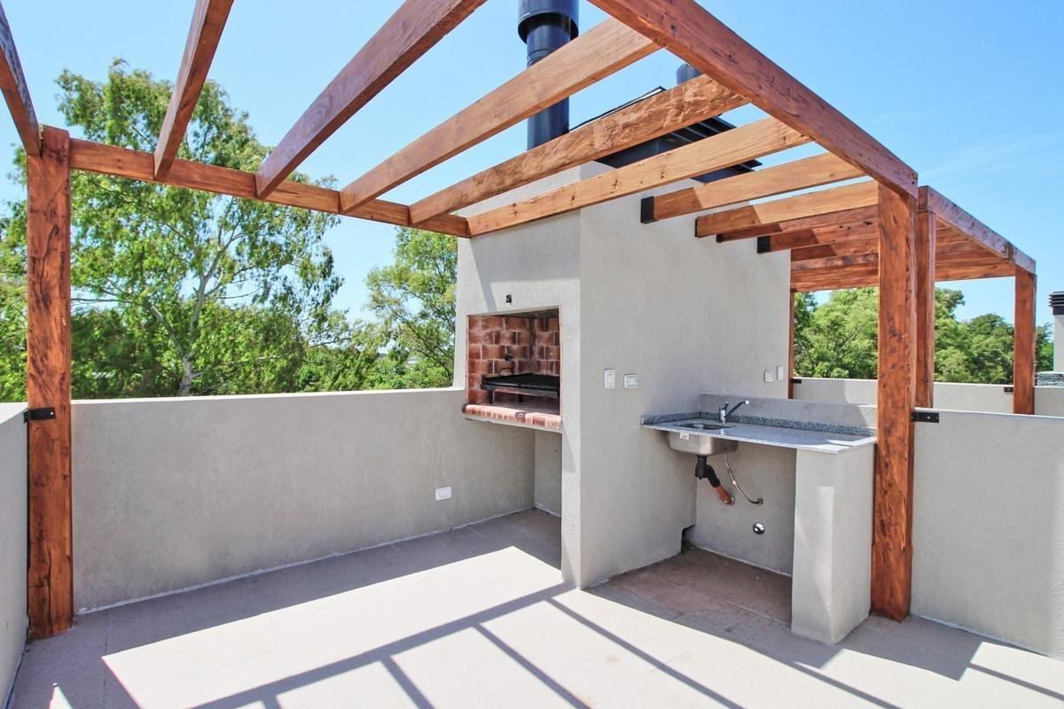 venta departamento 3 ambientes  con terraza y cochera barrio cerrado zona oeste moreno