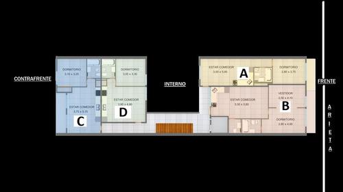 venta departamento 3 ambientes en san justo