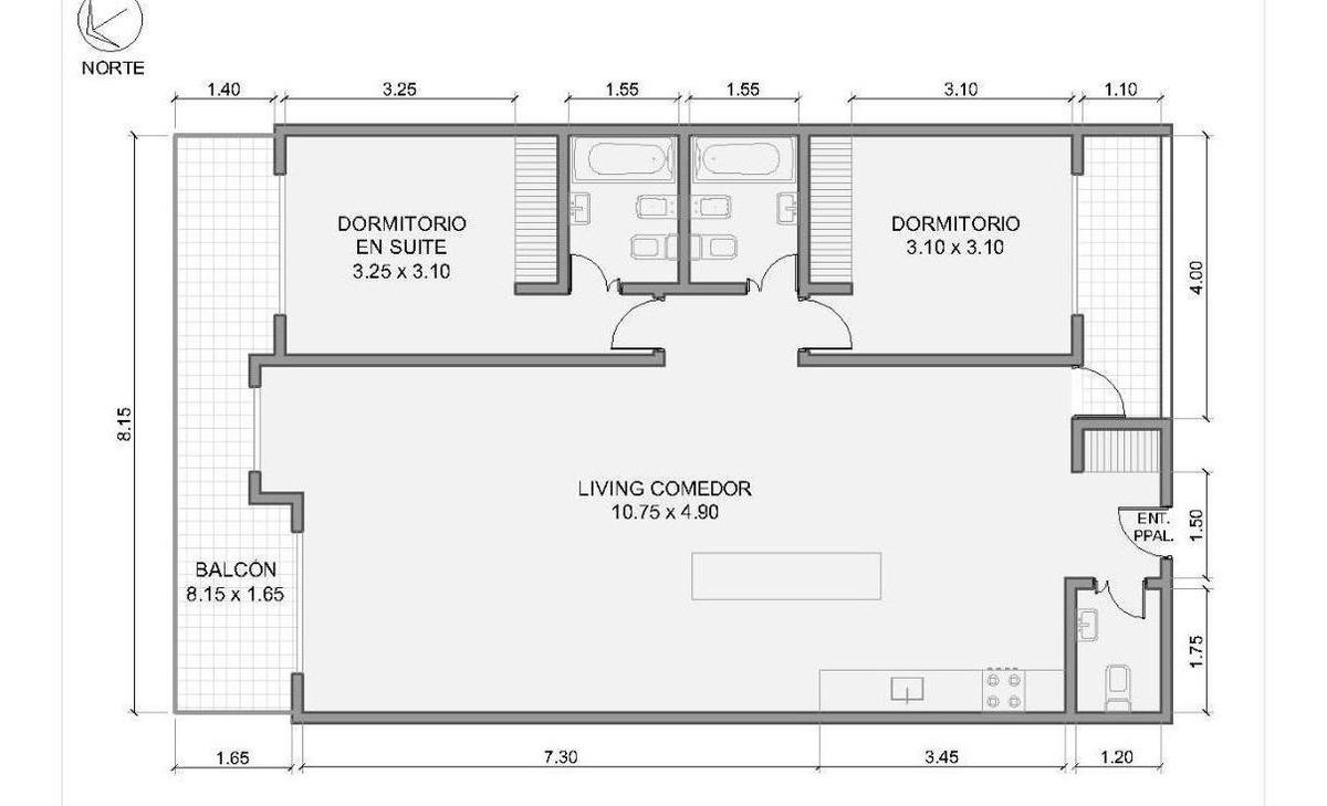venta departamento 3 ambientes .olivos. cochera. solarium con pileta