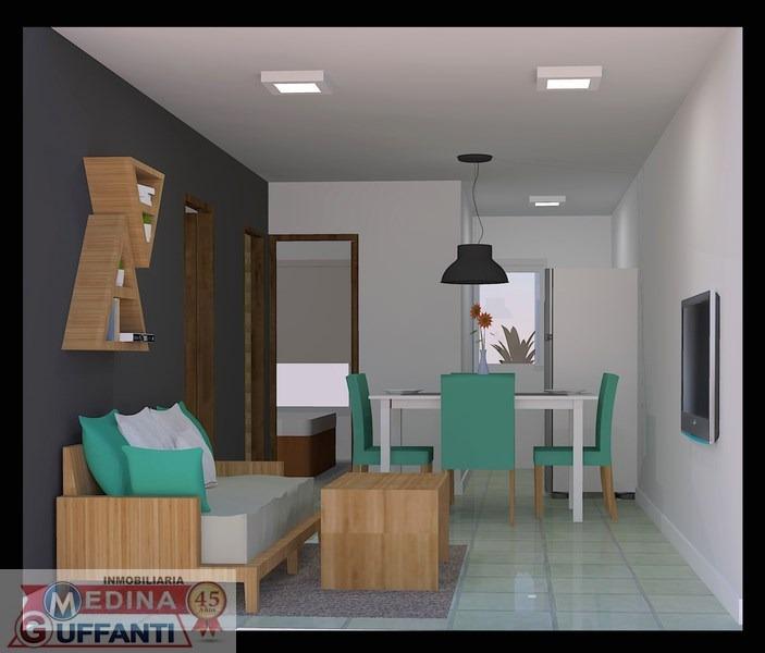 venta departamento 3 ambientes san bernardo financiado