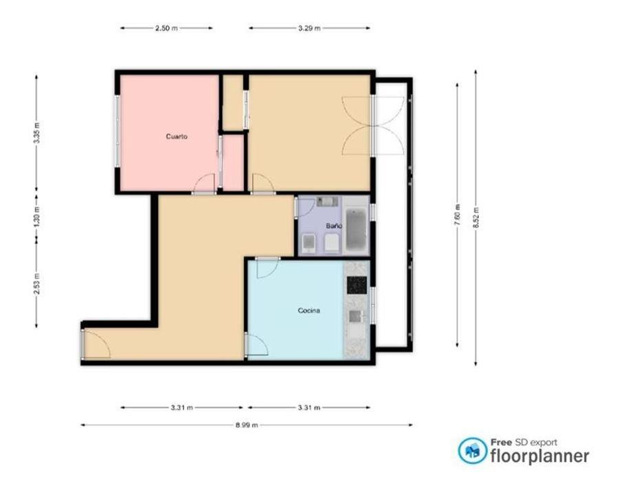 venta departamento  3 ambientes  villa devoto