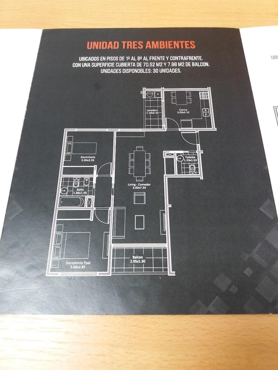 venta departamento 3 ambientes, villa luro