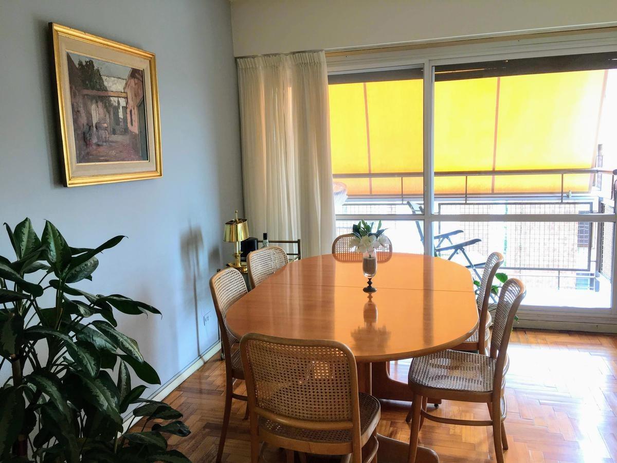 venta departamento 3 ambientes, vista panorámica 2 cocheras balcón en martínez vías / libertador