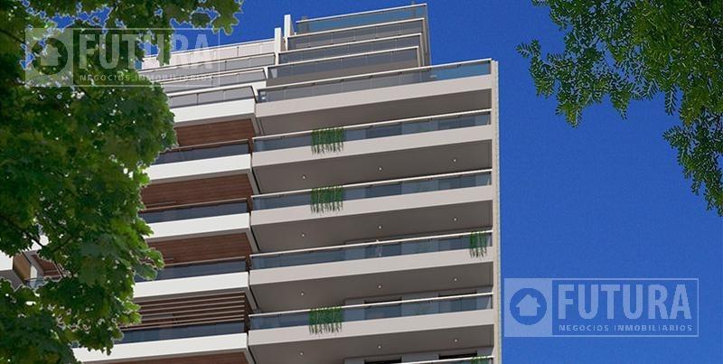 venta departamento 3 dormitorios al frente - scuba 47- avda pellegrini 1267 - rosario centro