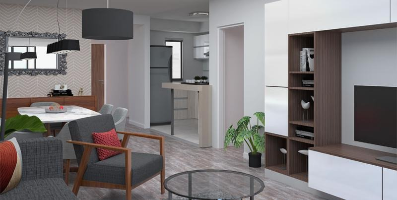 venta departamento 3 dormitorios al frente - scuba 47 - avda pellegrini 1267 - rosario centro
