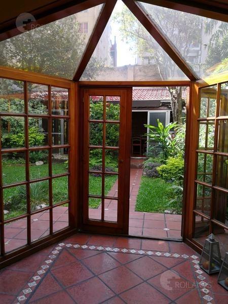 venta departamento  4 ambientes pb patio jardín quincho  barrio norte