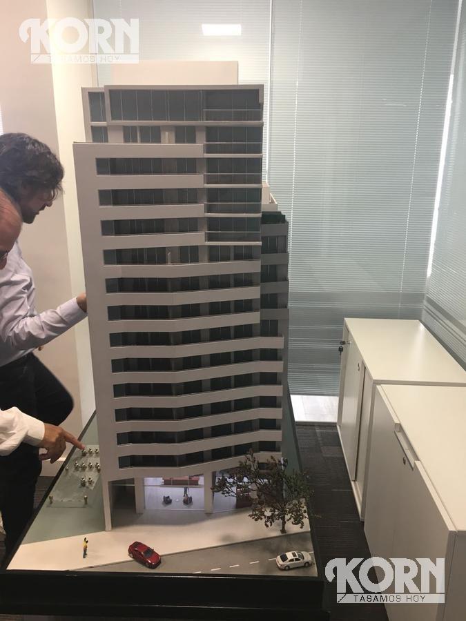 venta departamento apto profesional de 1 ambiente en palermo - en construccion