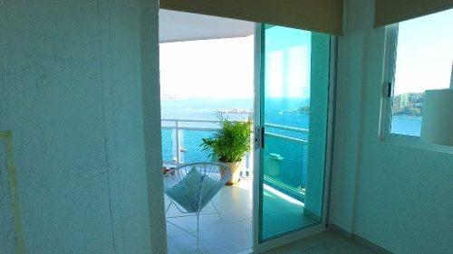 venta departamento con vista en acapulco, boca chica
