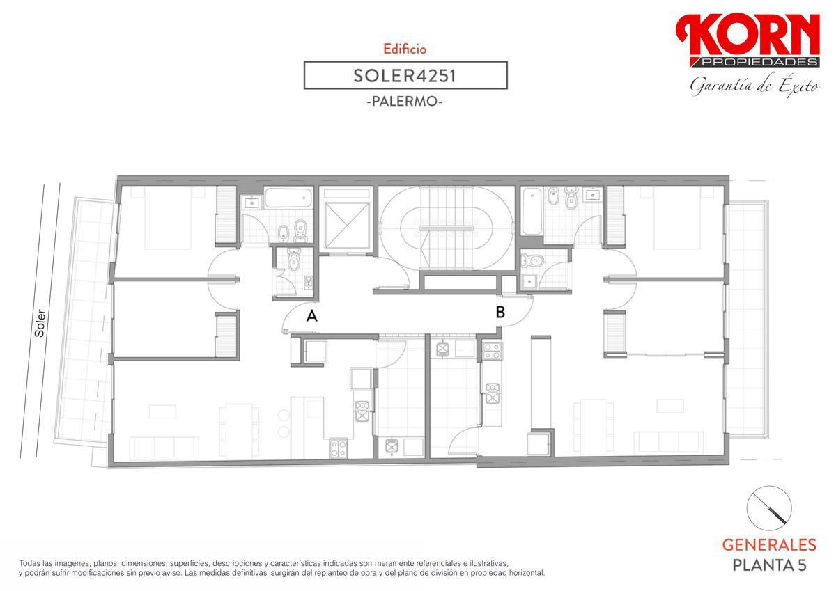 venta departamento de 1 ambiente con balcon - en construccion