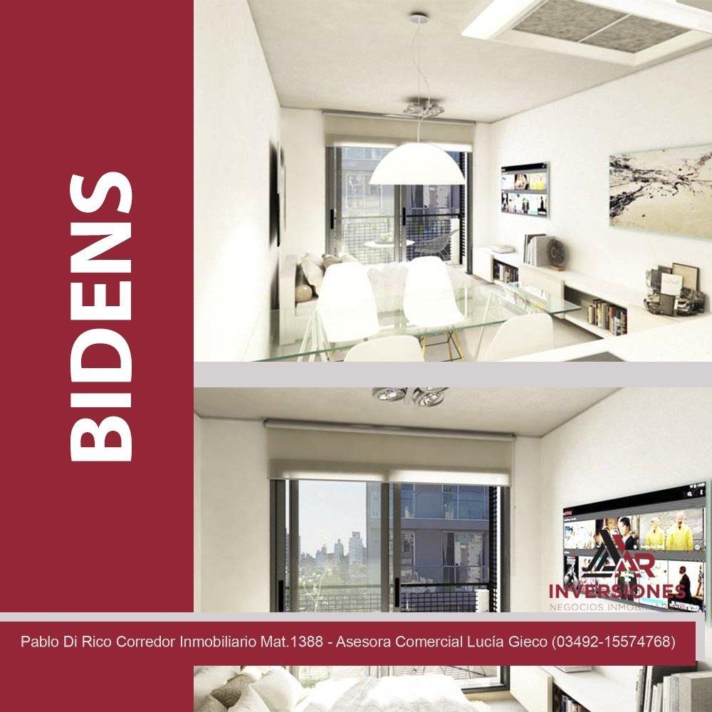 venta departamento de 1 dormitorio - edificio coworking para propietarios - buenas terminaciones - rosario