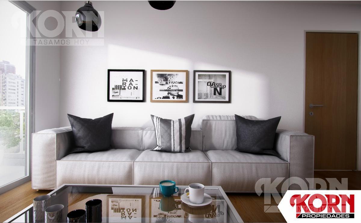 venta departamento de 2 ambientes apto profesional en caballito - en pozo