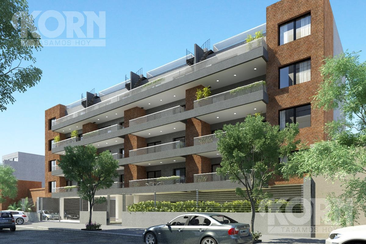 venta departamento de 2 ambientes con balcon en coghlan - en pozo