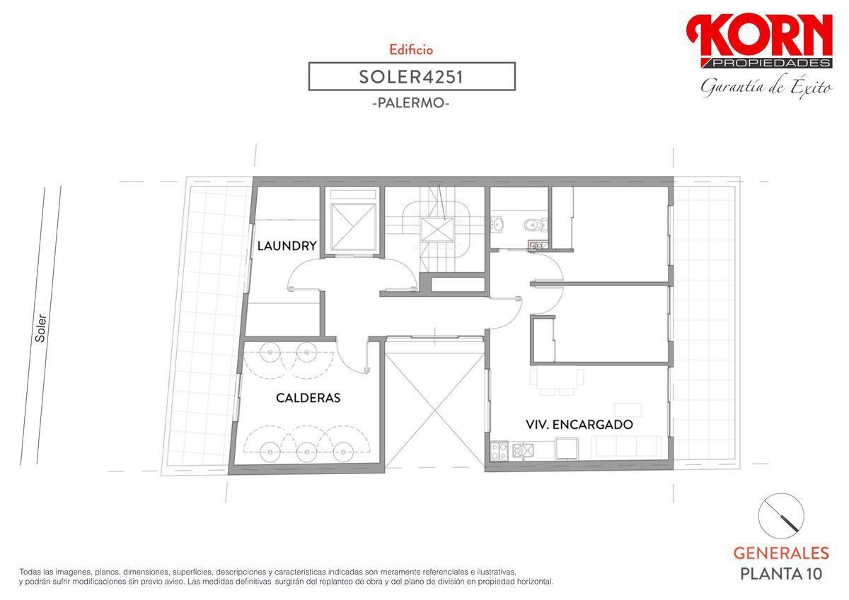 venta departamento de 2 ambientes con balcon - en construccion