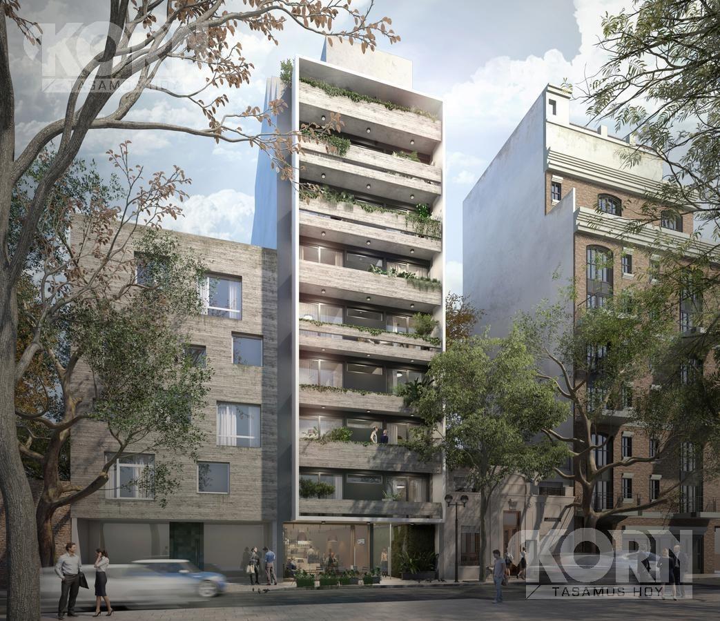venta departamento de 2 ambientes con balcon terraza en palermo - pre-lanzamiento