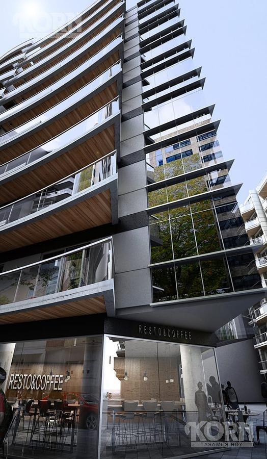 venta departamento de 2 ambientes con dos balcones en caballito - en pozo