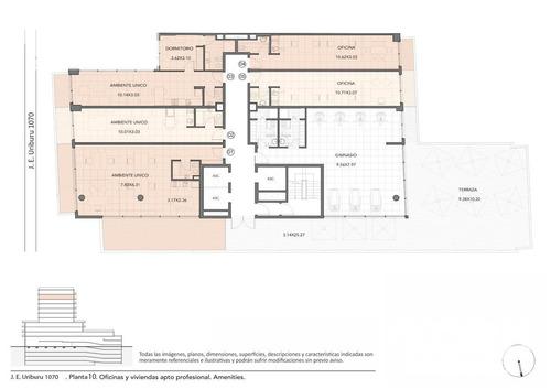 venta departamento de 2 ambientes en construccion en recoleta