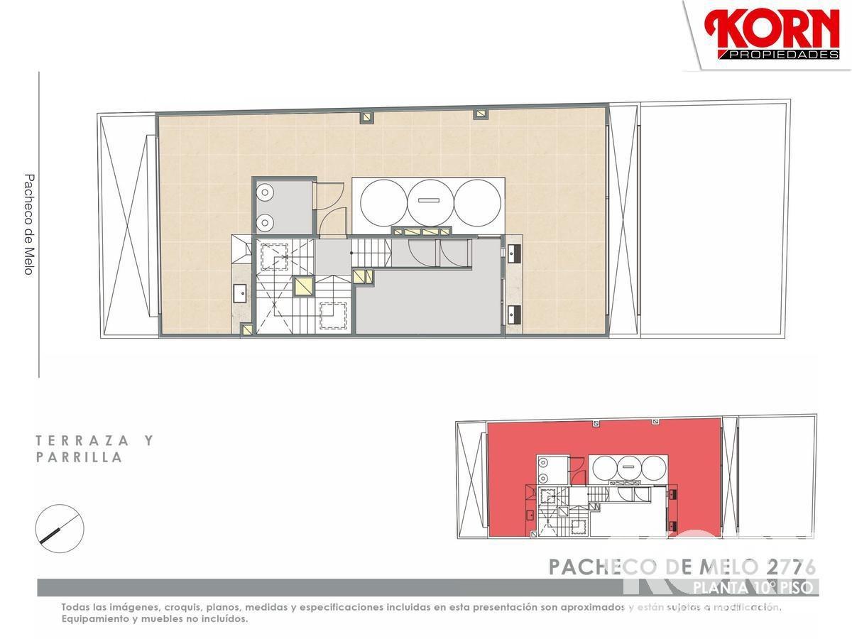 venta departamento de 2 ambientes en edificio a estrenar en recoleta