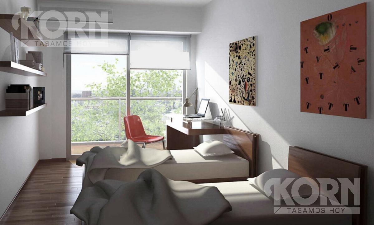 venta departamento de 2 ambientes en palermo - en construccion